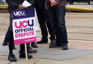 UCU dispute board