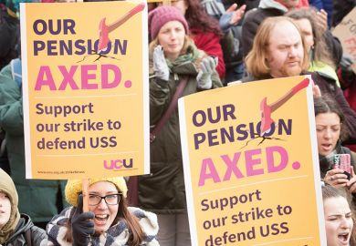 UCU pension strike