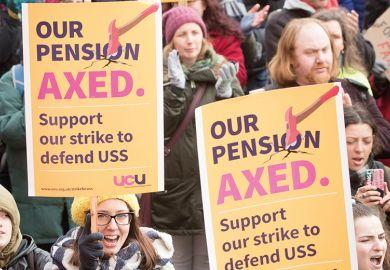 UCU pension strike