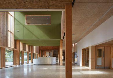 University of East Anglia (UEA) Enterprise Centre interior