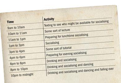 University of York timetable, The Poppletonian (4 August 2016)