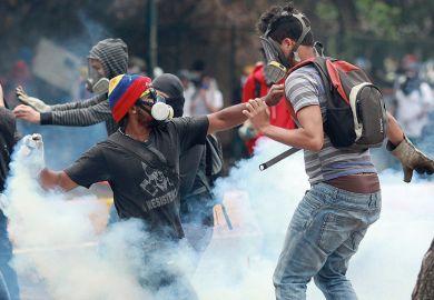 Venezuela protesters