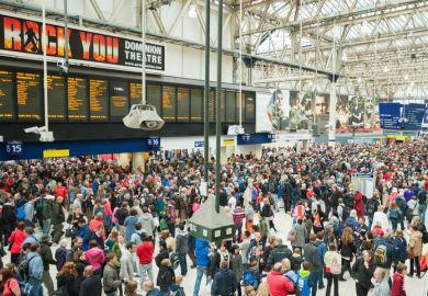 Waterloo crowd