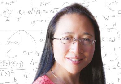 Portrait of Eugenia Cheng