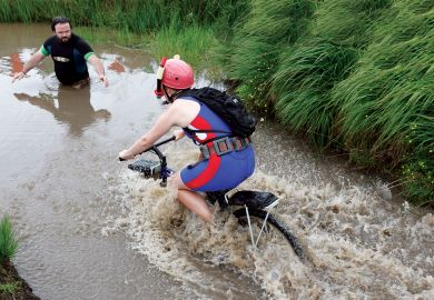 Quirky annual World Mountain Bike Bog Snorkelling Championships