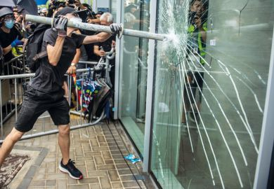 man smash window glass protest_getty.jpg