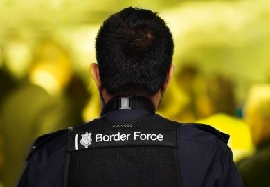 British border guard