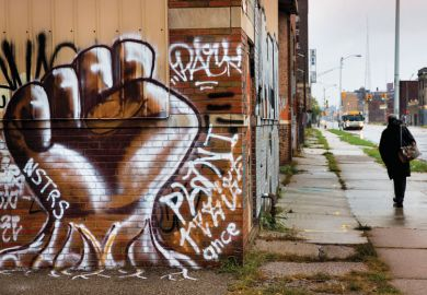 Motor City no more: many neighbourhoods in Detroit remain distressed since the demise of the automobile industry