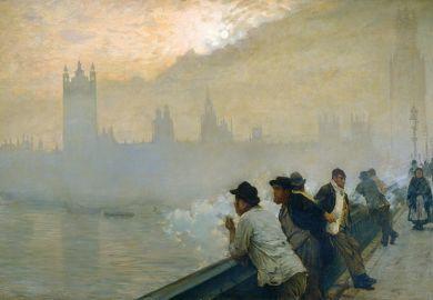 Westminster, 1878, by Giuseppe de Nittis (1846-1884)