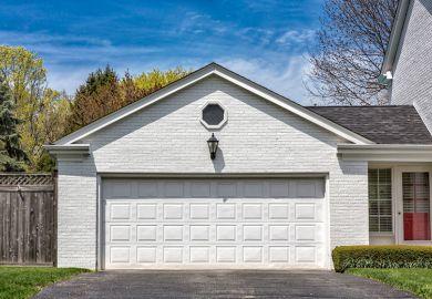 white-garage