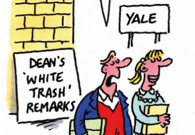 Yale cartoon