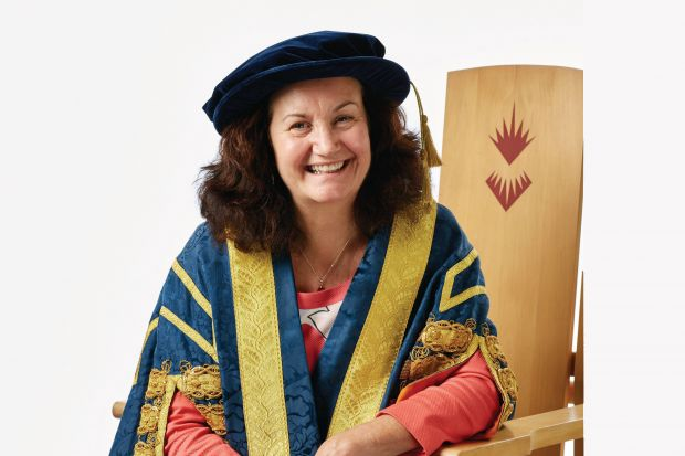 Shirley Atkinson, vice-chancellor of the University of Sunderland