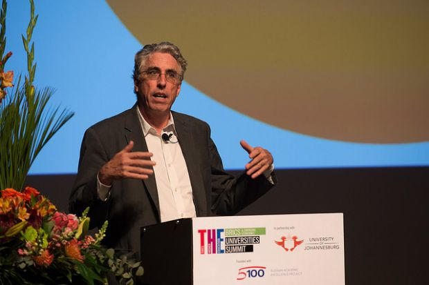 John Aubrey Douglass speaking at THE BRICS & Emerging Economies Universties Summit