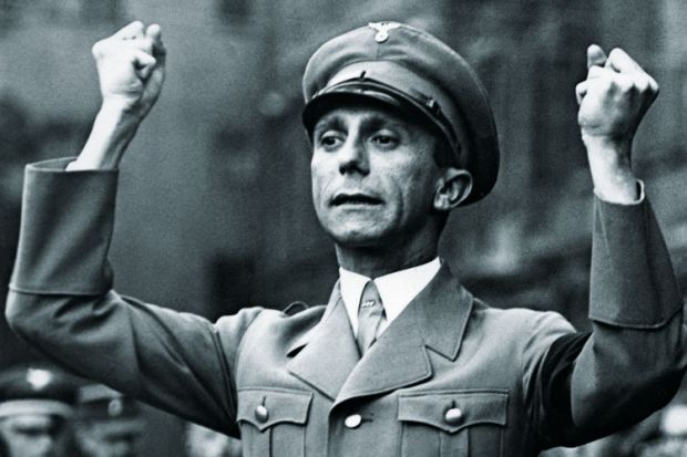 Image result for the holocaust, Joseph Goebbels