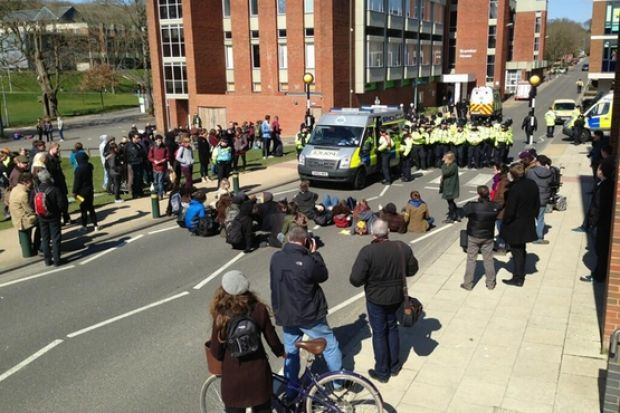 University of Sussex occupation ends | Times Higher
