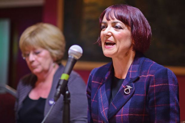 Scottish education secretary Angela Constance