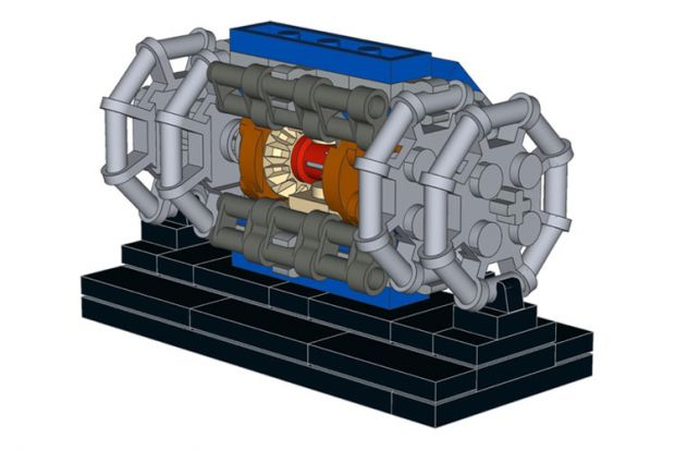 Video: student builds Large Hadron Collider...from Lego | Times ...