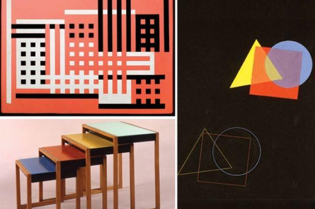 Bauhaus Inspired Web Design