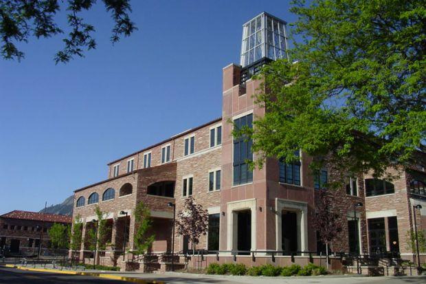 University of colorado at boulder college of environmental design: studio 1
