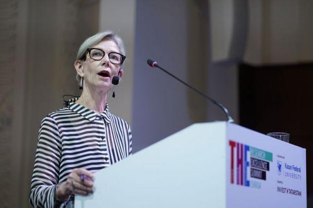 Susan Robertson at the THE Summit