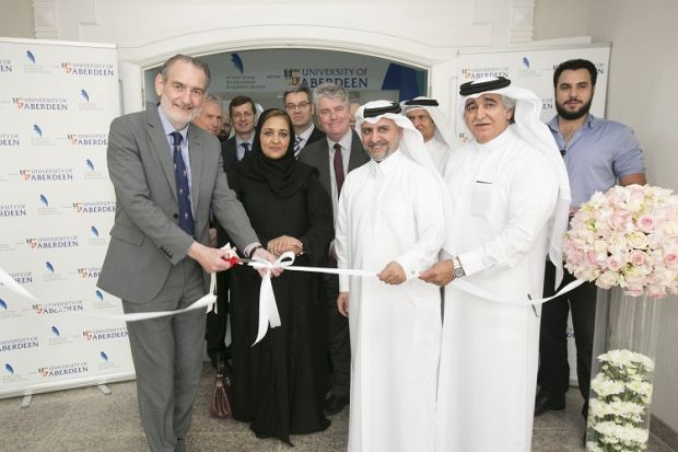 University of Aberdeen Qatar campus opening