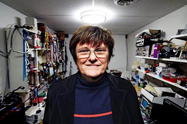 Dr. Katalin Kariko, 65, the Hungarian born scientist whose work has become the cornerstone in the creation of the Covid-19 vaccine in the lab in the basement of her house.