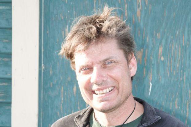 Alan Cooper, director, Australian Centre for Ancient DNA, University of Adelaide. Photo J Soubrier