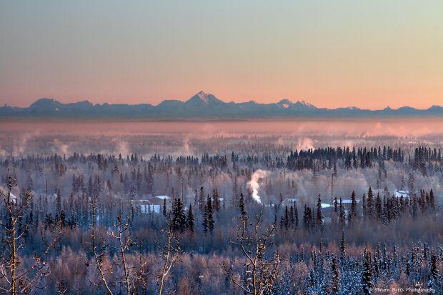 View from University of Alaska Fairbanks