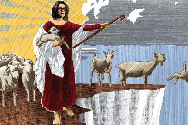 Amber Rudd as bad shepherd