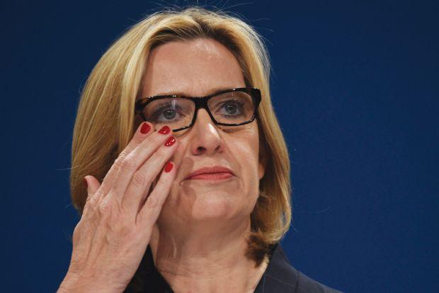 Britain's Home Secretary, Amber Rudd