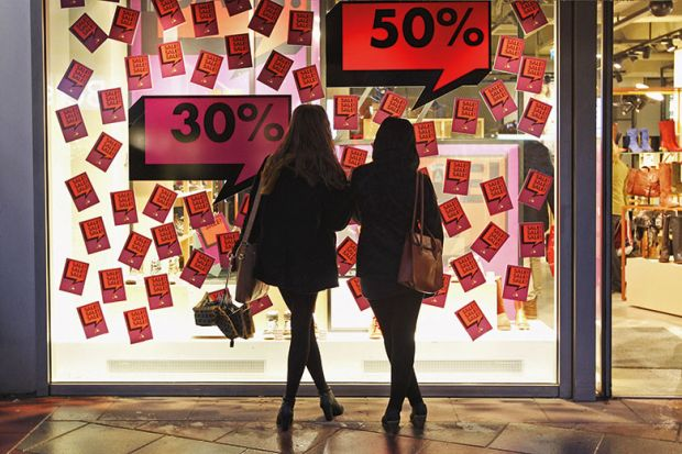 Sale display
