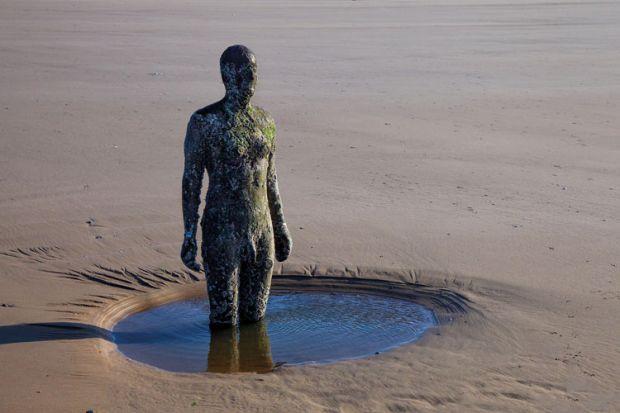 Antony Gormley statue