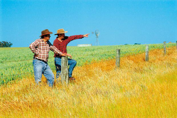 Australian farmers