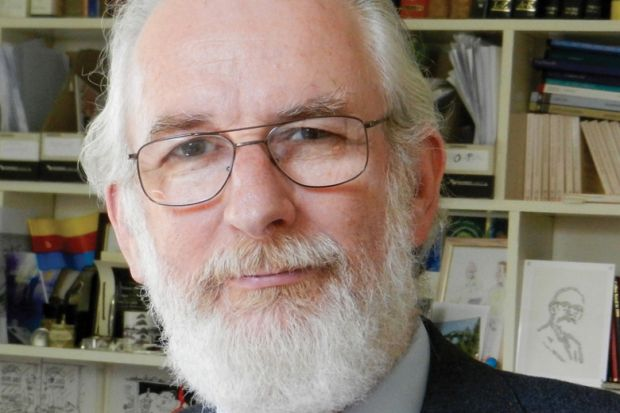 Author David Crystal, Bangor University