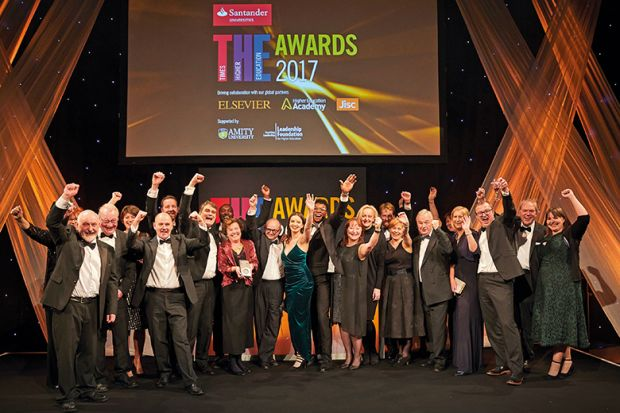 THE Awards 2017 winners