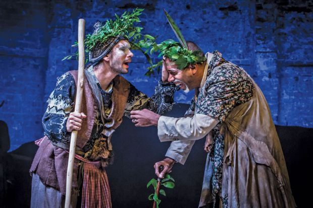Review: Ben Whishaw and Kevin Harvey in Bakkhai by Euripides, by Anne Carson