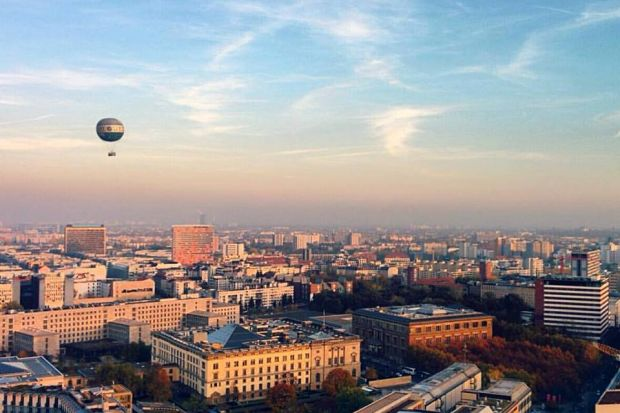 Berlin from the Potsdamerplatz view point