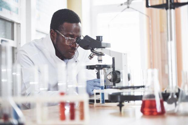 A black scientist