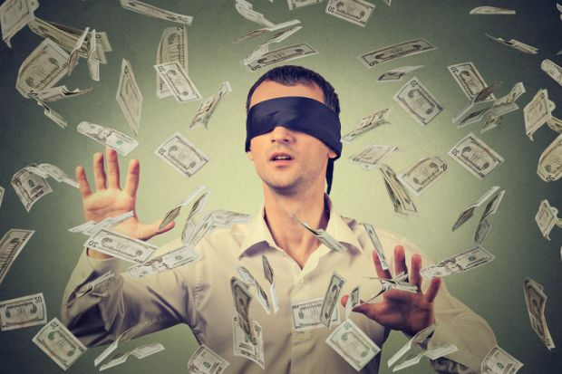 Blindfolded business success