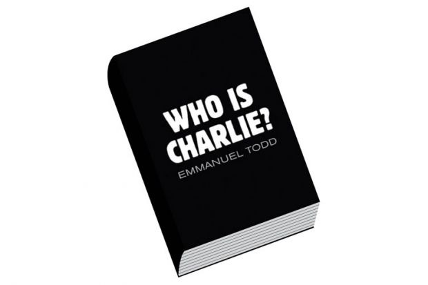 Book review: Who is Charlie? Xenophobia and the New Middle Class, by Emmanuel Todd