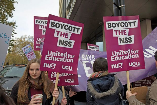 Boycott the NSS protesters