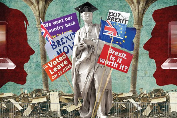 Brexit collage