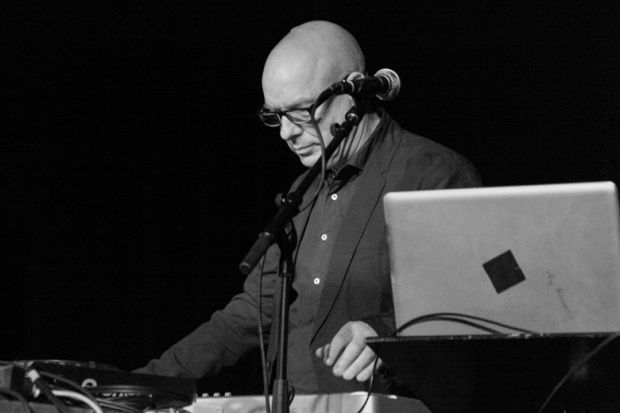 Brian Eno performing live at Punkt 2012