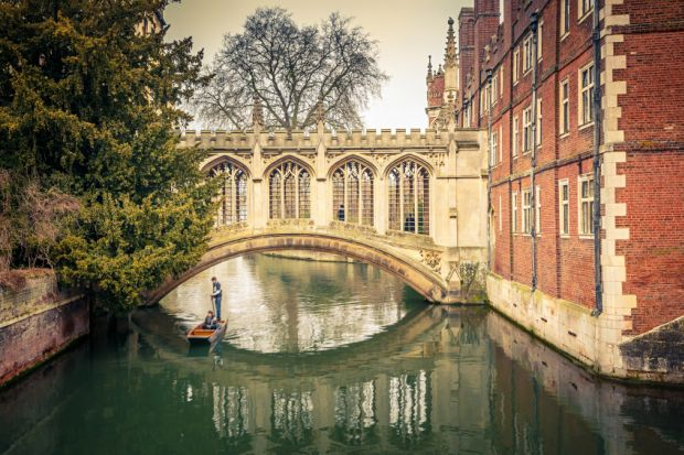 Bridge of Sighs at St John's College, Cambridge