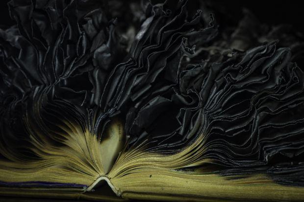 Burnt book