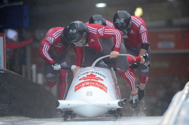 Canadian bobsleigh team