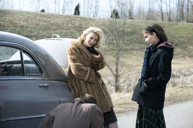 Cate Blanchett and Rooney Mara in Carol