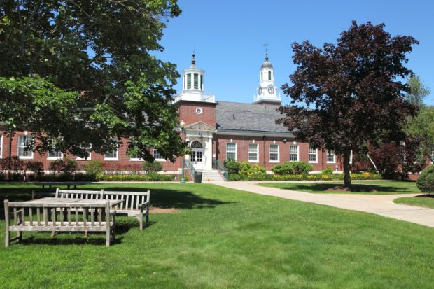 Davidson Hall on the campus of Central Connecticut State University