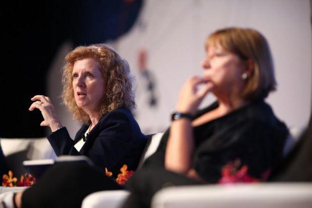 Cheryl Regehr speaks at the World Academic Summit