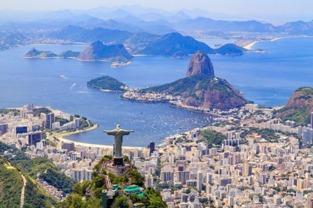 Christ, The Redeemer in Rio de Janeiro, Brazil